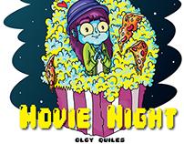 Olgy's Perfect Movie Night
