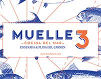 Muelle 3 Playa del Carmen