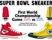 Converse Chuck Taylor All-Stars Super Bowl Editions