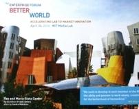 BetterWorld @ MIT Conference