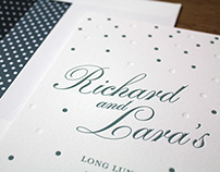 Richard & Lara Wedding Stationery
