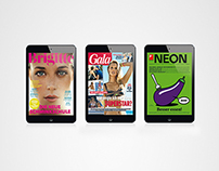 Gruner+Jahr magazines for ipad - launch campaign