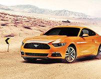 Retouch: Ford Mustang