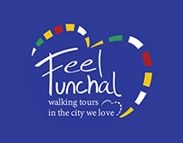 Feel Funchal - Walking Tours | Logo & Flyer Design
