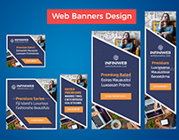 Web Banner in Adobe Photoshop