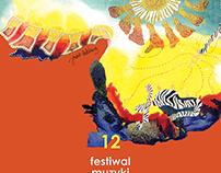 12 Organ Music Festival Polkowice - poster