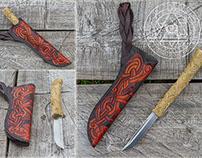 Ulfrekr - Norse Inspired Custom Knife
