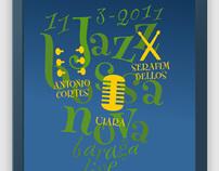 Jazz concert posters (2011)