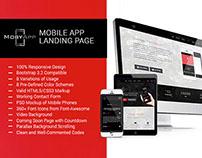 MobyApp – Landing Page