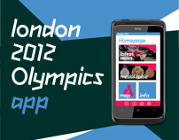 London 2012 Olympic App Concept