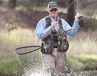 Allen Company fly fishing shoot