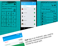 Cutt App Android Material Design Concept