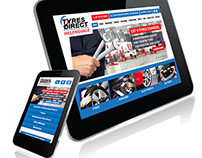 Responsive Website Design | Tyres Direct