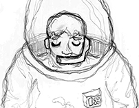 THE LONE COSMONAUTS