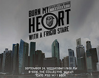 Burn My Hear With A Frigide Stare: Poster