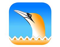 Gannet iOS Icon