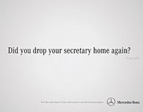 Mercedes-Benz Print Ad