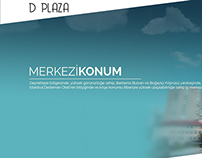 D Plaza Website Layout