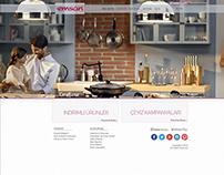 Emsan Corporate Website UI Design