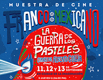 French-Mexican Film Exhibition Poster Design