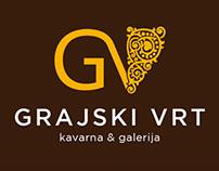 Logotip kavarne Grajski vrt / Logotype Grajski vrt