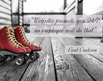 Websites promote you 24/7 no employee will do that. #di