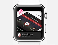 Dribbble Apple Watch Concept