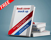 Book Cover Display Mockup (FREE)