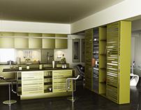 Modular concept kitchen