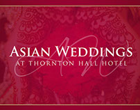 Asian Weddings Business Card for Thornton Hall Hotel