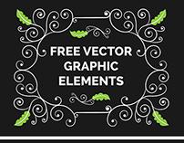 Free Decorative Vector Graphic Elements!