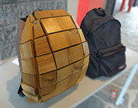 Brems thermowood laptop backpack