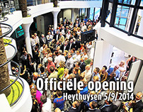 Officiële opening Penders, PAST en Porto Maurizio