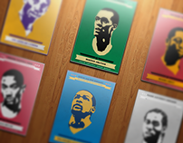 NBA Retro Inspired Posters