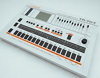 Roland TR - 707 Rhythm Composer