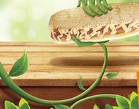Campanha Salsicha Vegetariana - Sherlock Dog