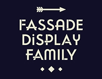 Fassade Display Typeface Family