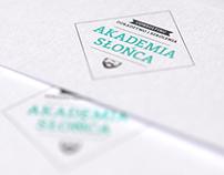 AKADEMIA SŁOŃCA branding