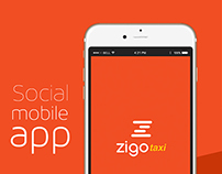 Zigo Taxi Concept App