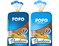 Pambom bread packaging