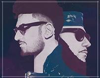 Chromeo // poster for Bilbao BBK Live