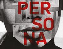 "Afiche de pelicula ""Persona"" de Ingmar Bergman"