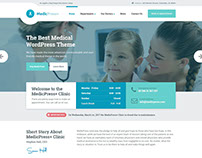 MedicPress WordPress Theme for Healthcare Websites