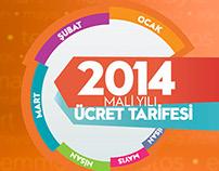 2014 Mali Yılı Kapak Çalışmaları