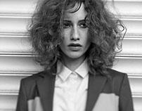 Marina Krtinic for Elle magazine