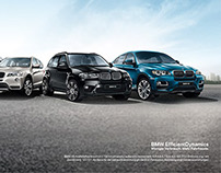 Some Ads for BMW X5 Pitch (Idea - EFFORTLESS DOMINANCE)