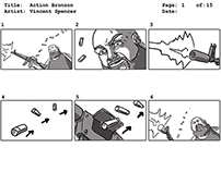 Action Bronson Easy Rider Storyboards