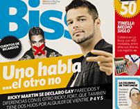 Suplemento Biss . Diario Clarín
