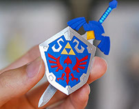 Paper cuts: The Legend of Zelda, A Link Between Worlds