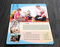 Babysitting & Daycare Flyer Template